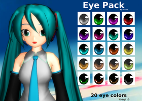 MMD Eye Pack download by Rozala