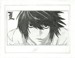 L's Drawing by Val3riao0o