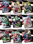 Justice League Sketchcards 002 by PencilInPain
