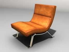 Leather Chair by gone-mad