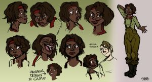 Girl character exploration by GalooGameLady
