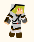 Shadow Link Minecraft Skin by Chaosfyre
