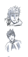 ROTG: Jack Frost Doodles by WithoutName