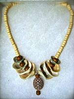 Seashell Necklace by sing2mi