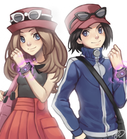 Pokemon XY by Fishiebug