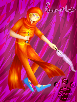 Seer of Light   Homestuck   413 Special by MyDrawingSpace888
