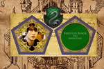 Regulus Black Chocolate Frog Card by N0xentra