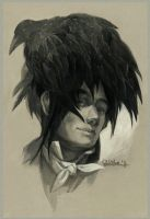 Raven haircut by Quberon