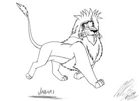 My Lion King OC - Jabari by MortenEng21