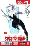 Spider-Gwen sketch cover on sale by mdavidct