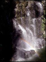 Of Rainbows and Waterfalls 2 by hikaraseru