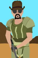 My New Vegas Character by Brosef-Stachin