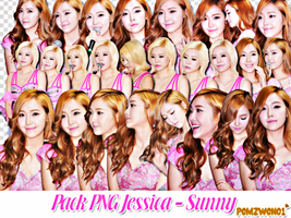 Pack PNG Jessica Sunny by pomzwon01