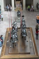 Mounted Knight group 9 by oldsoulmasquer