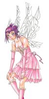 Pink Fairy by melaniecomics