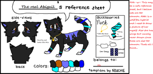 Abbigail Reference Sheet -Replaces Karat- by H3ARTOFTHEOCEAN