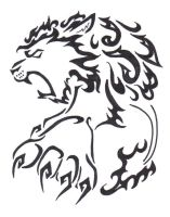 Lion Tribal Tat Request by Songficcer