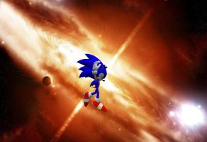 Sonic goin' super by NeoMetalSonic360