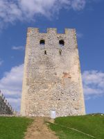 Old Castle Tower 2 by dig-undeground