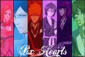 Six Hearts (Bleach) by PlayxDead88