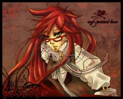 Grell Sutcliff by Dama-Oscura