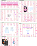 Just sweets profile design and coding by UszatyArbuz