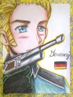 Hetalia : Germany by spogunasya