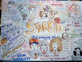 A Very Starkid Piece Of Paper by yellowsugarmouse