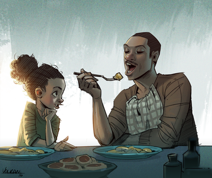 fathers and daughters by volkanyenen