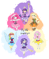 My little magical girl by theluckyangel
