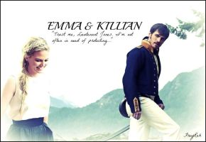 Emma + Killian AU by FreyReh