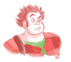 Wreck-It Ralph by DanieWuvsLelouch