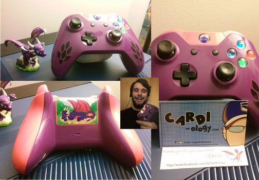 Cynder controller by Toa-Ignicus