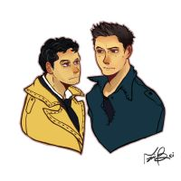 Destiel by naomibei