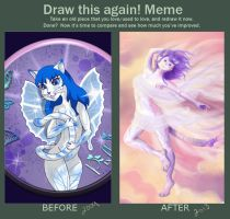 Draw it again meme by PixlPhantasy
