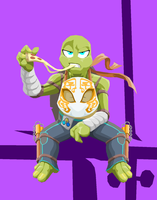 Ninja Turtle Michelangelo by Tyrranux