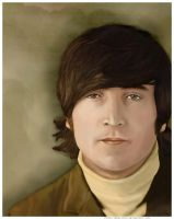 John Lennon by pbwriter