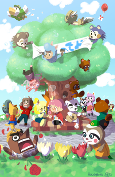 Animal Crossing by BunnyTheAssassin