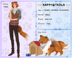 Happy Tails: Todd by C-enpai