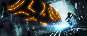 It's all gone Tron by Andes-Sudo