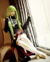 Code Geass: CC sitting by oichiHime