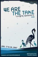 We Are The Take - Flyer 02 by agentfive