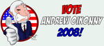 Vote Andrew Oikonny for 2008 by ImagenAshyun