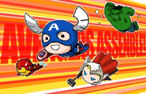 Avengers assemble! by Ruinter