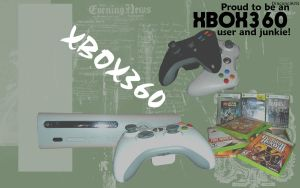 XBOX360 Computer Background by DragonIce85