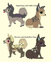 4 Pups to ~thestarfruit by MichelsAdoptions