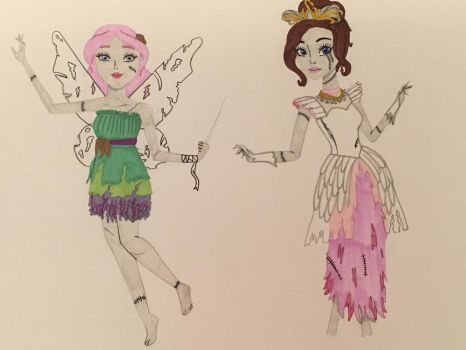 Girls as Zombie Princesses 7 by madiquin185