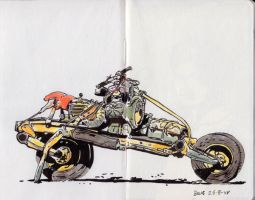 Motorbike by pictishscout