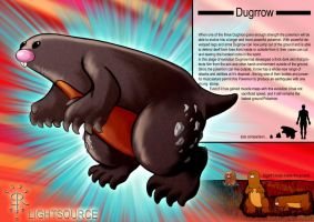 Dugrrow-Pokemon concept by xXLightsourceXx