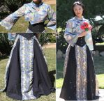 Neo-Victorian Chinoiserie Outfit by GypCPixC